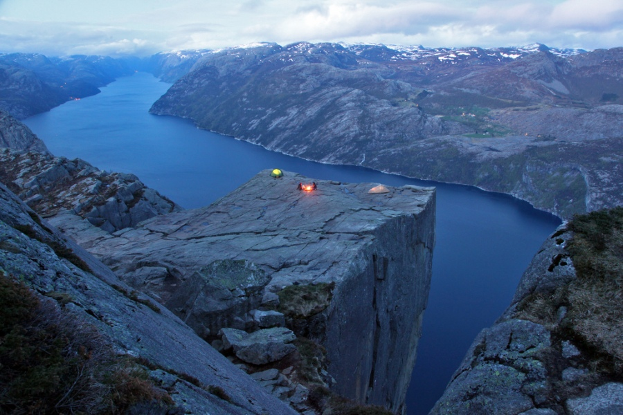 Landscape Mountain Camping