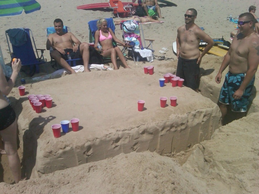 Beach Sand Table