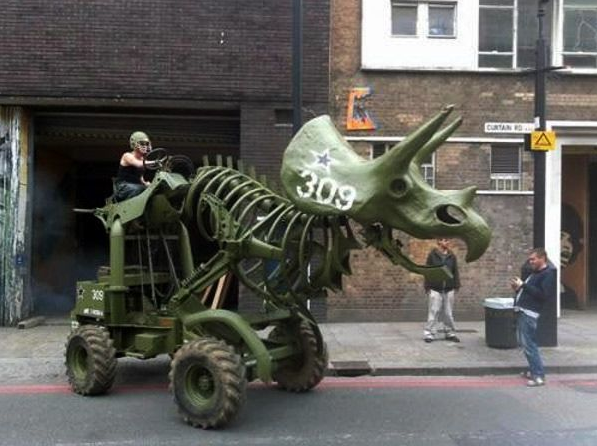 Mechanical Dinosaur in London