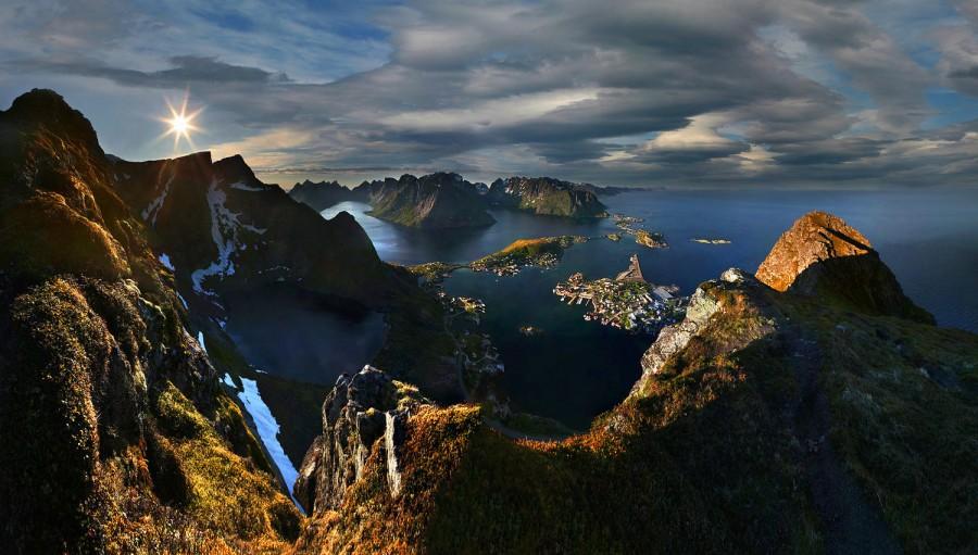 Sunrise on Lofoten, Norway