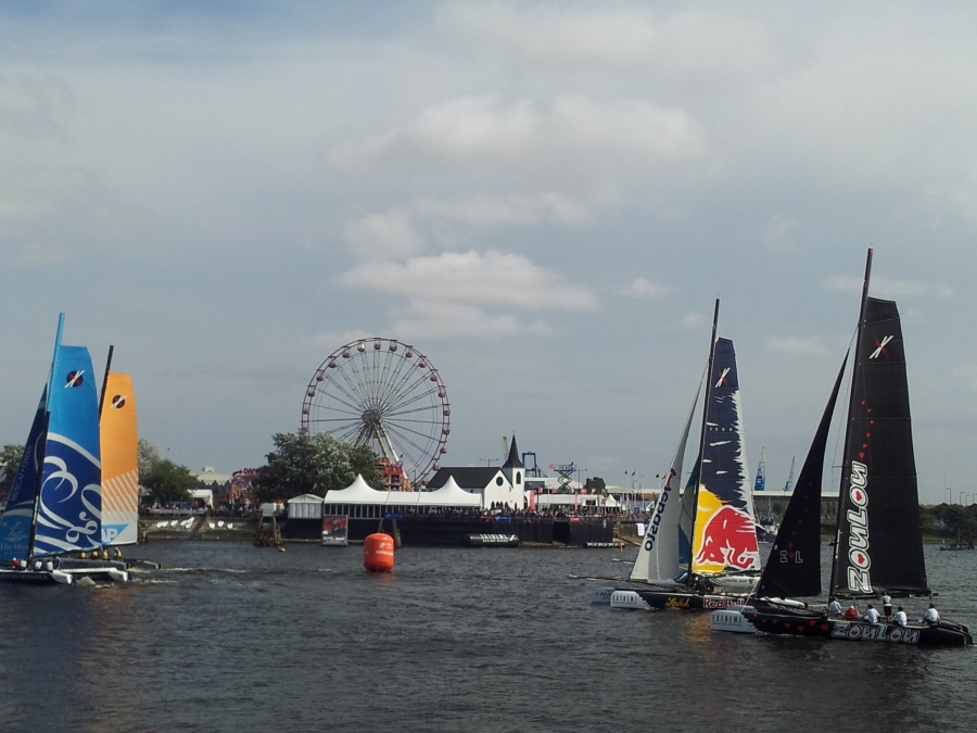 Cardiff Bay Extreme Sailing Racing