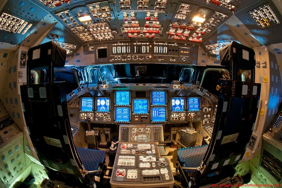 Space Shuttle Endeavor Flightdeck