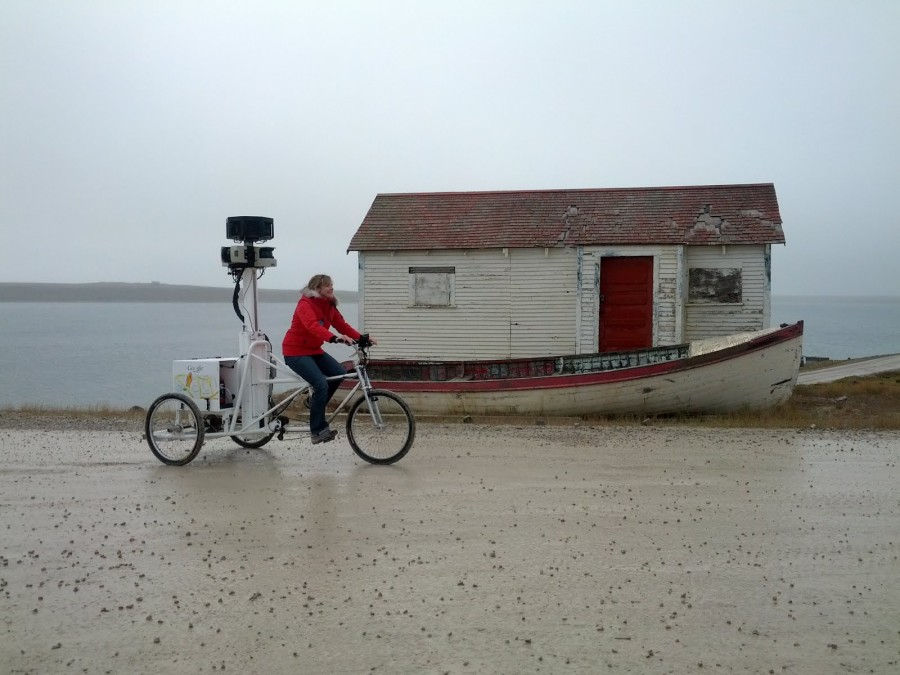 Google Street View in the Artic