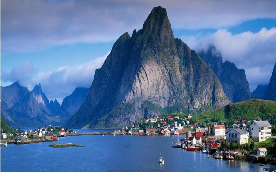 Gudvangen village, Norway