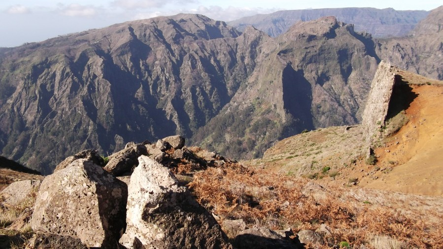 Madeira Island Mountains