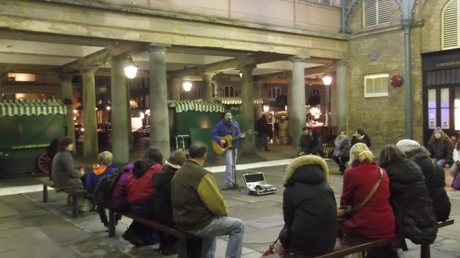 Live Music, Covent Garden