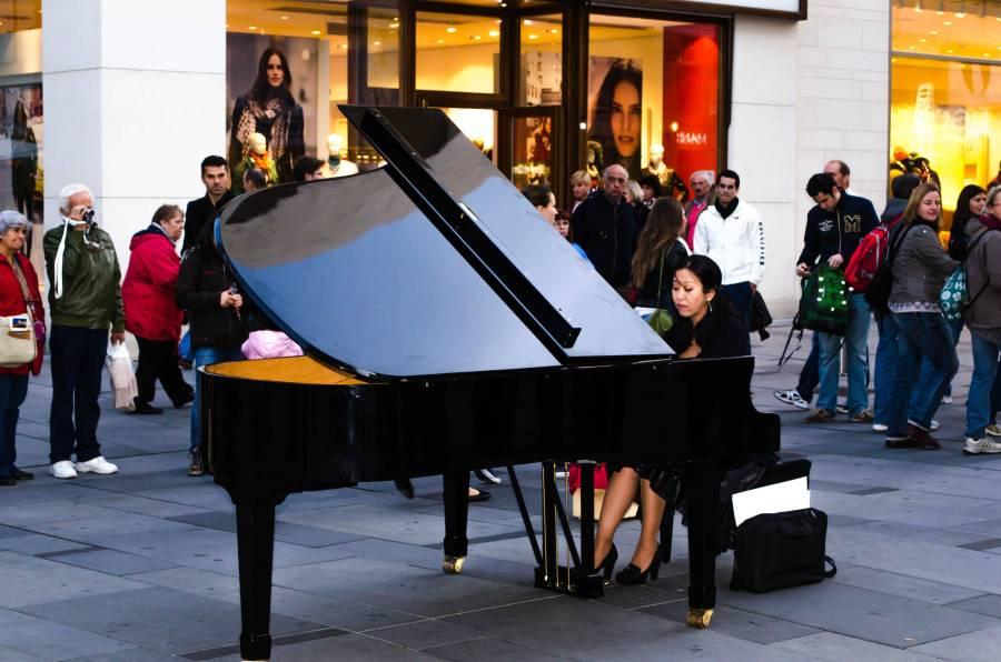 Vienna Street Pianist