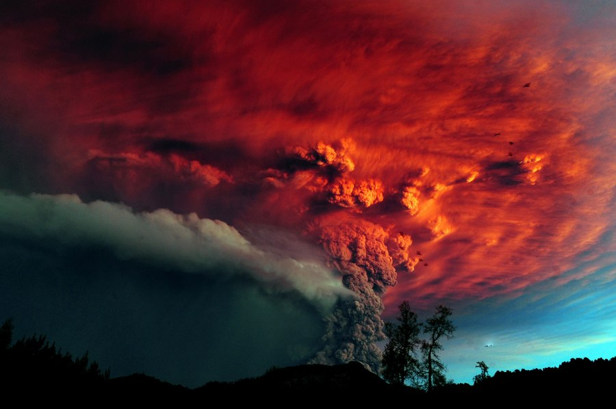 Red Ash Volcano