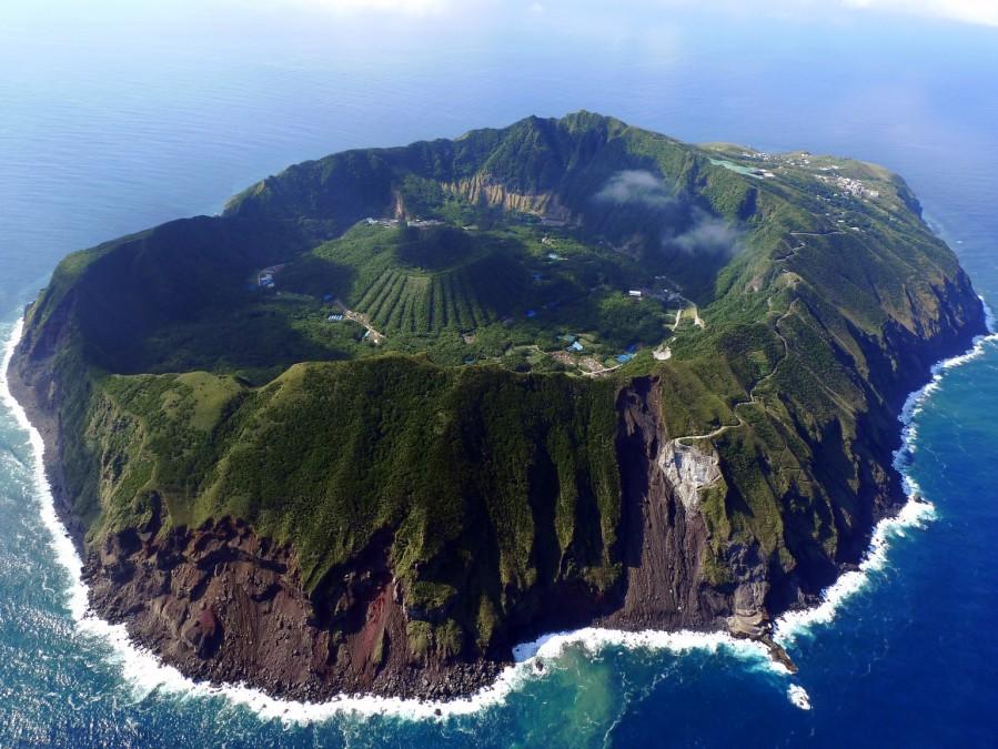 Aogashima Island in Japan