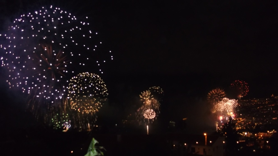 Funchal Fireworks 2014 Madeira Island