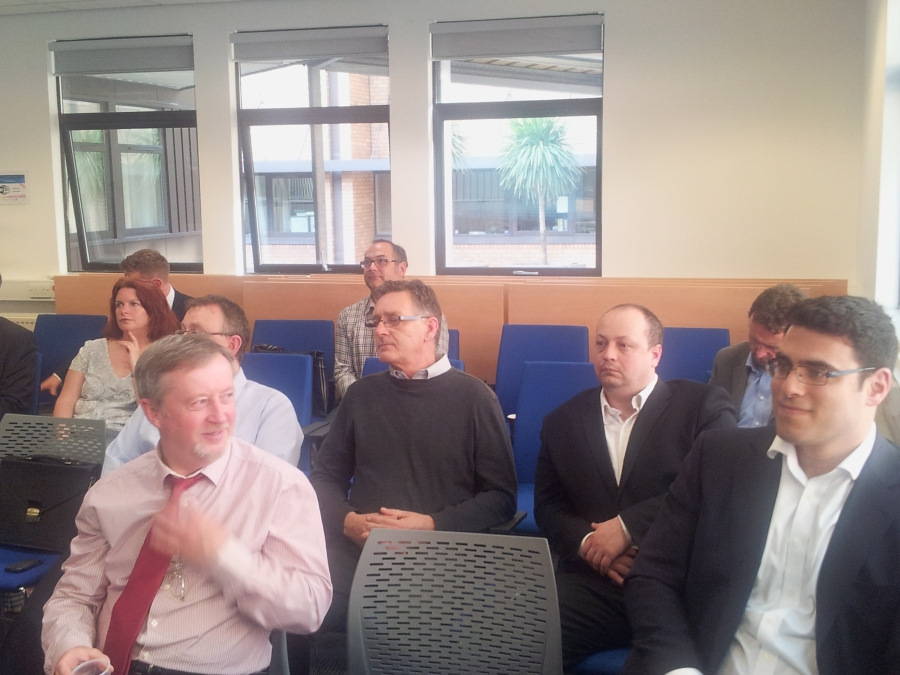 South Wales Technology Council Audience