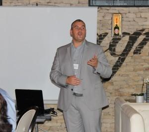 Elio Assuncao at Cardiff Business Network