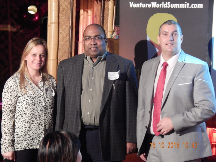 Venture Capital World Summit 2015 Event Speakers with host Elio Assuncao