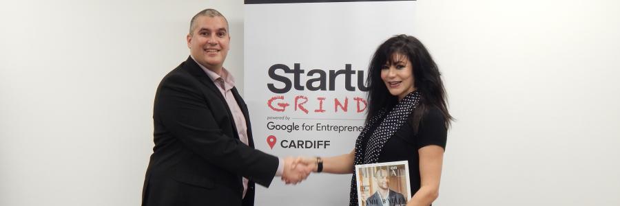 Startup Grind Cardiff Elio Assuncao and Millie Cooper