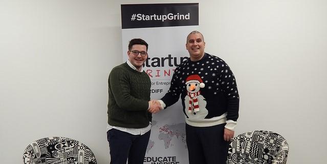 Startup Grind Cardiff, Host Elio Assuncao