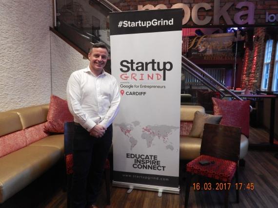 Startup Grind Cardiff Dayle Parfitt March 2017