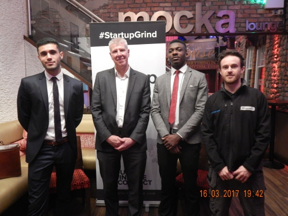 Startup Grind Cardiff March 2017 with Tony Lesowiec
