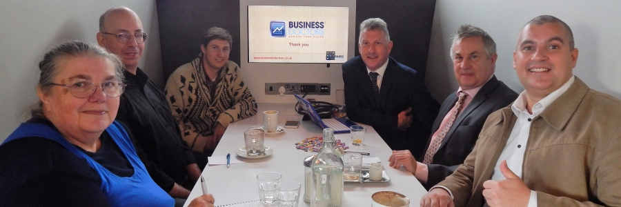 Hero Business Club at Cardiff Open Coffee Event