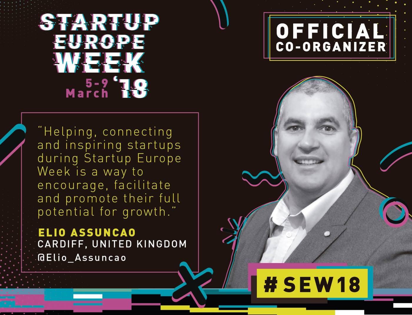 Startup Europe Week Cardiff Elio Assuncao