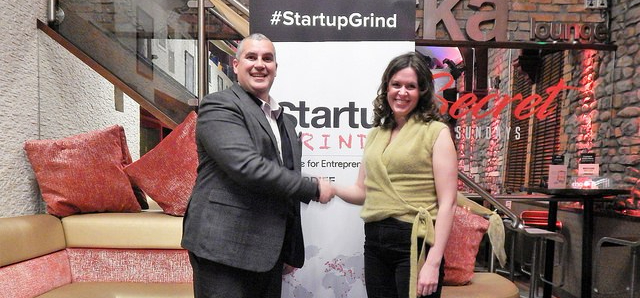 Startup Grind Cardiff Events Elio Assuncao and Anna Brees