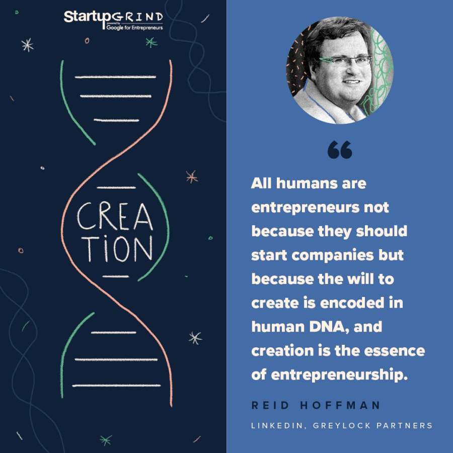 DNA Quote Startup Grind Cardiff