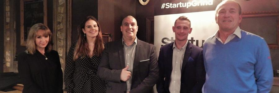 Startup Grind Cardiff November 2018 Elio Assuncao Ash Cotter