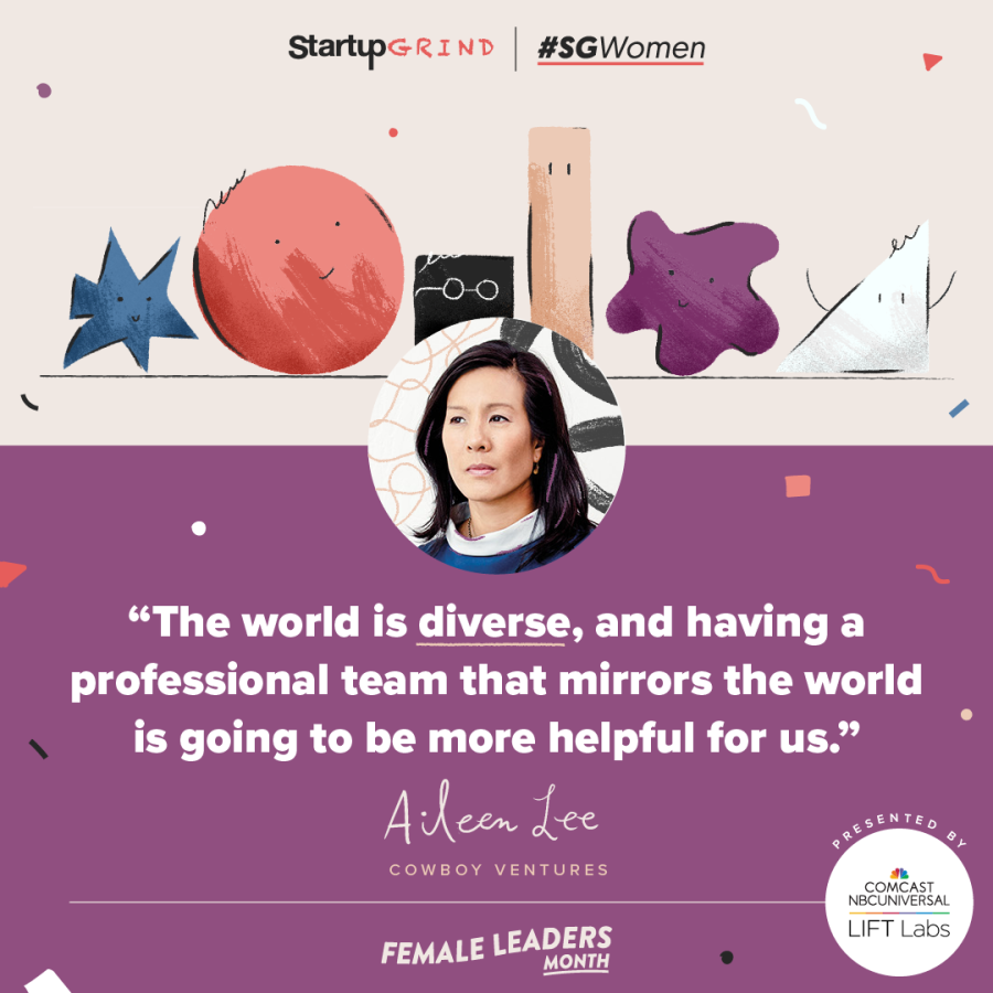 Aileen Lee Startup Grind Cardiff Quote
